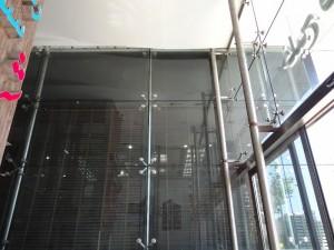 نمای شیشه ای مدرن