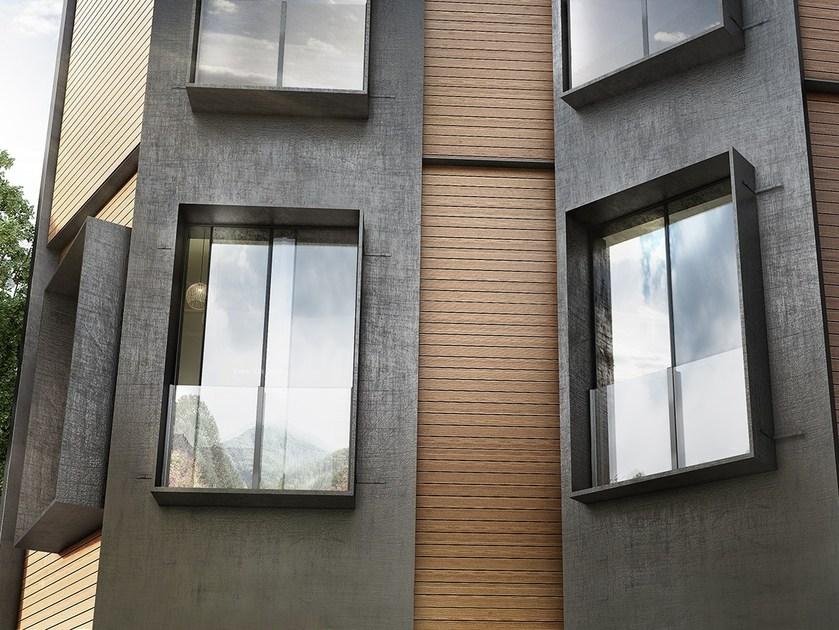 کاربرد نمای چوبی ساختمان