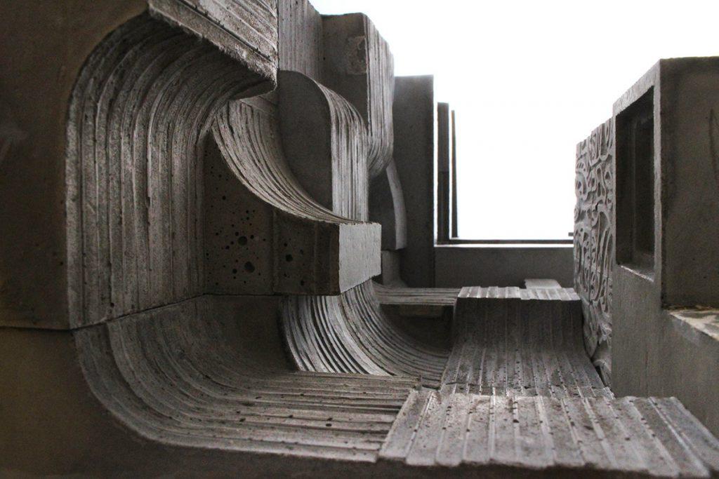 بتن اکسپوز در معماری
